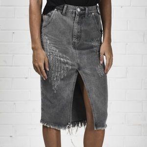 NEW // One Teaspoon Phantome Cadillac Skirt